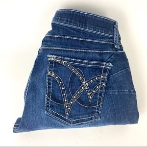 """Wranglers Cowgirl Cut Q-Baby Riding Jean 3/4x32"""""""